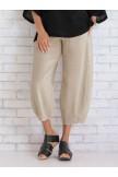 Women Cotton Pants Spring Summer Casual Pants
