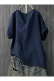 Print Fish Bone Casual Short Sleeve Cute TShirt