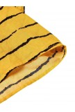 Vintage Print Polka Dots Striped Twopiece Dress